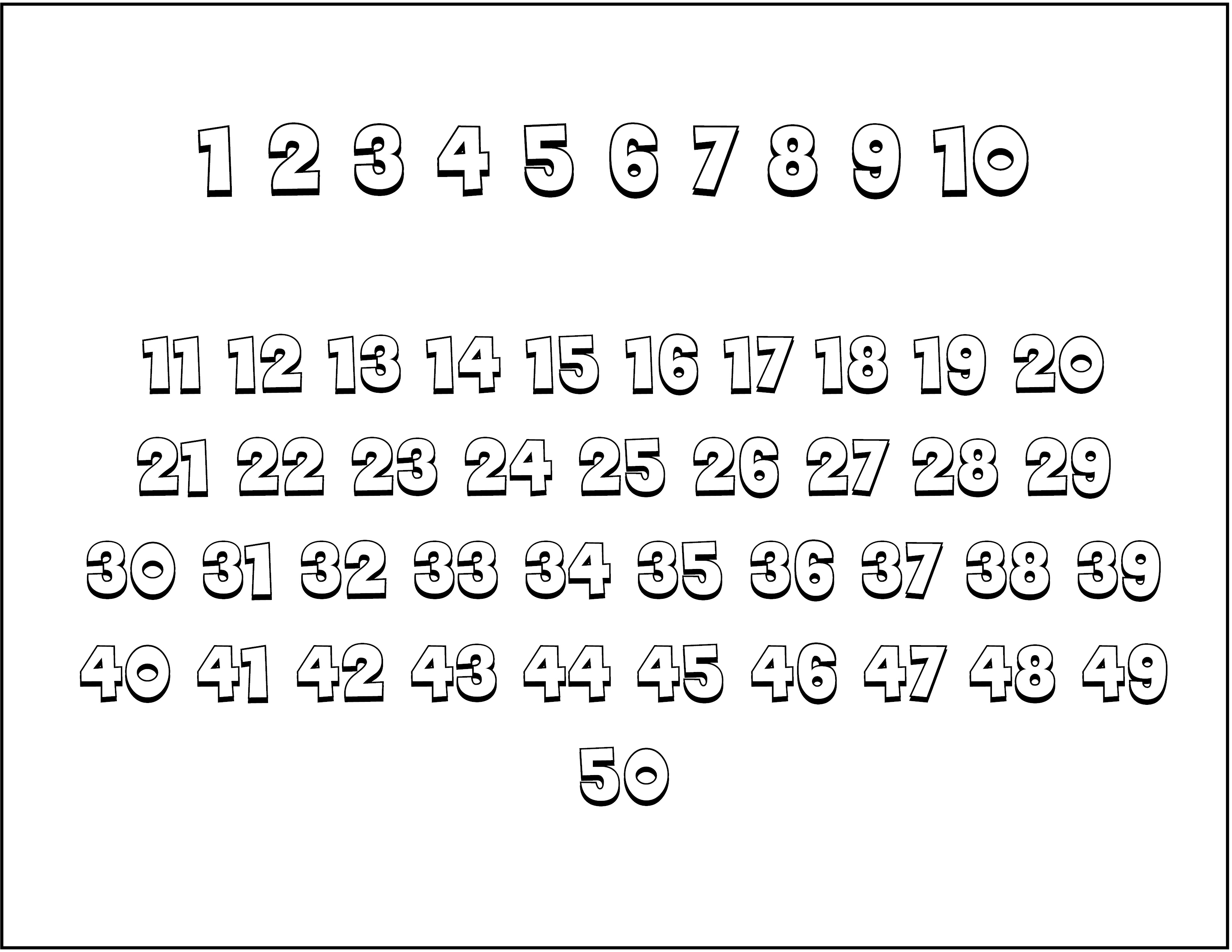 template for numbers 1 100 - fine number coloring pages 1 100 images entry level